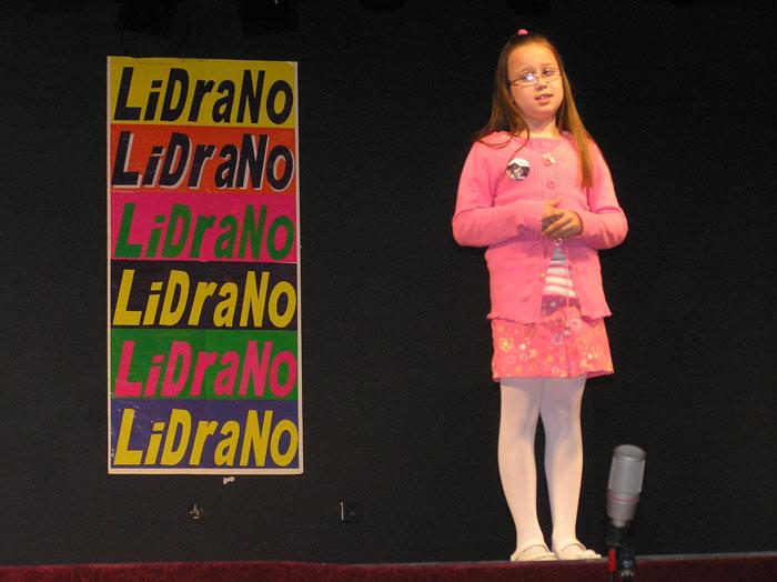 Ana na državnoj smotri LiDraNo 2012